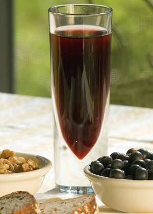 Grapevine Firewood: Grape juice