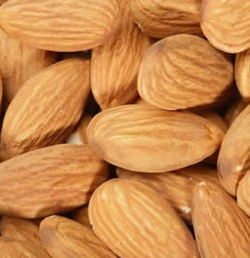 Burning Properties: Almond