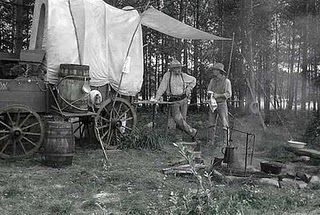 Cooking on a Campfire: Chuck Wagon