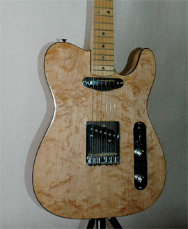 Maple Firewood: Electric Guitar