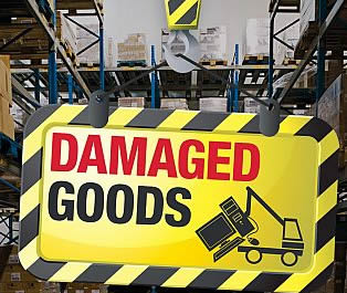 Firewood Deliveries: Damaged goods