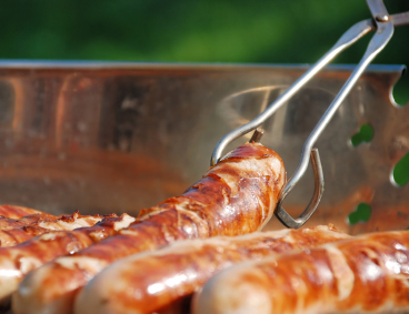 Cooking on a Campfire: Sausages